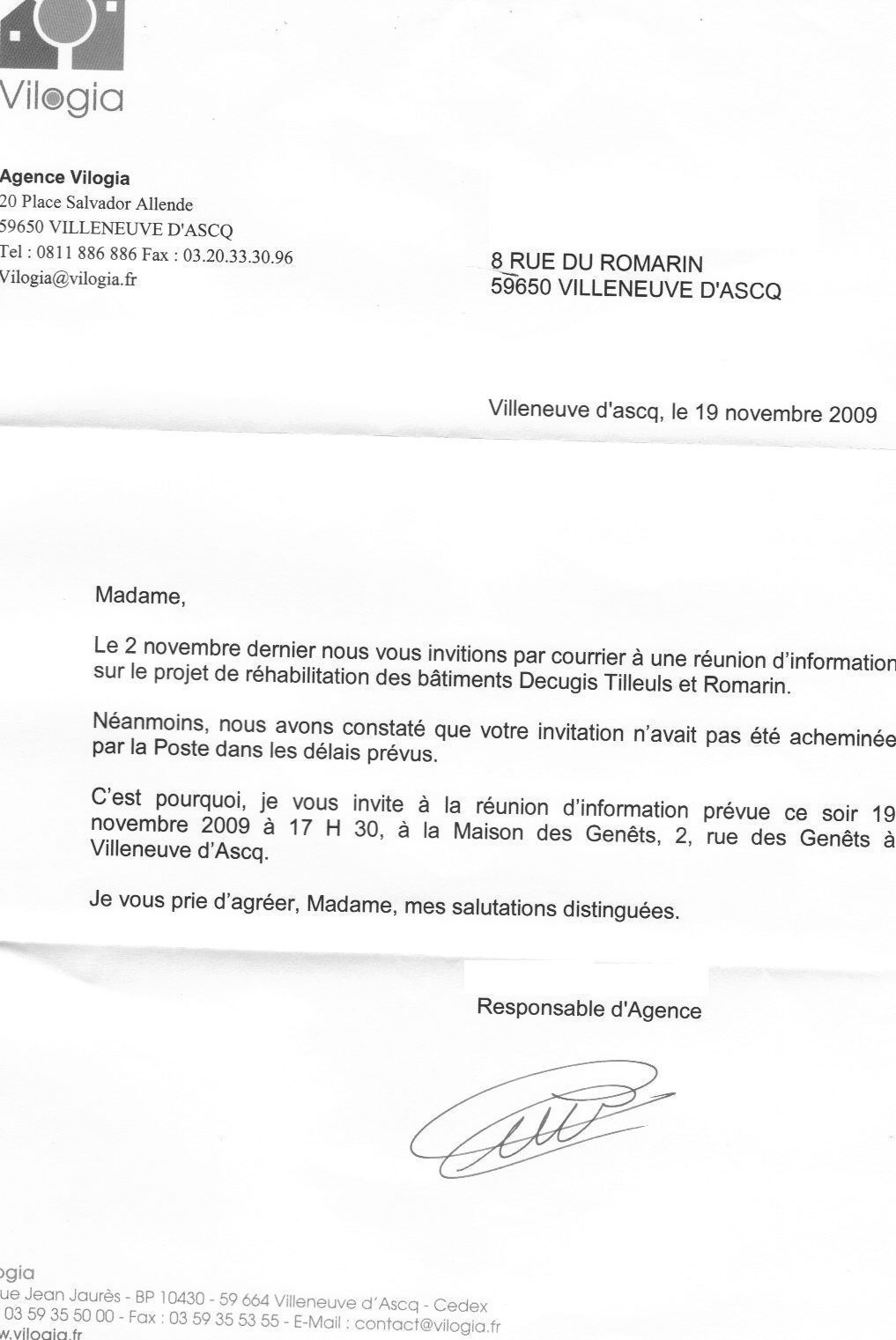 courrier d augmentation de loyer