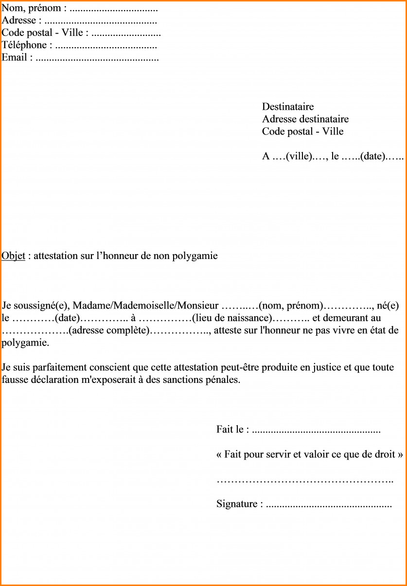 Awesome Lettre Pour Changement D Adresse