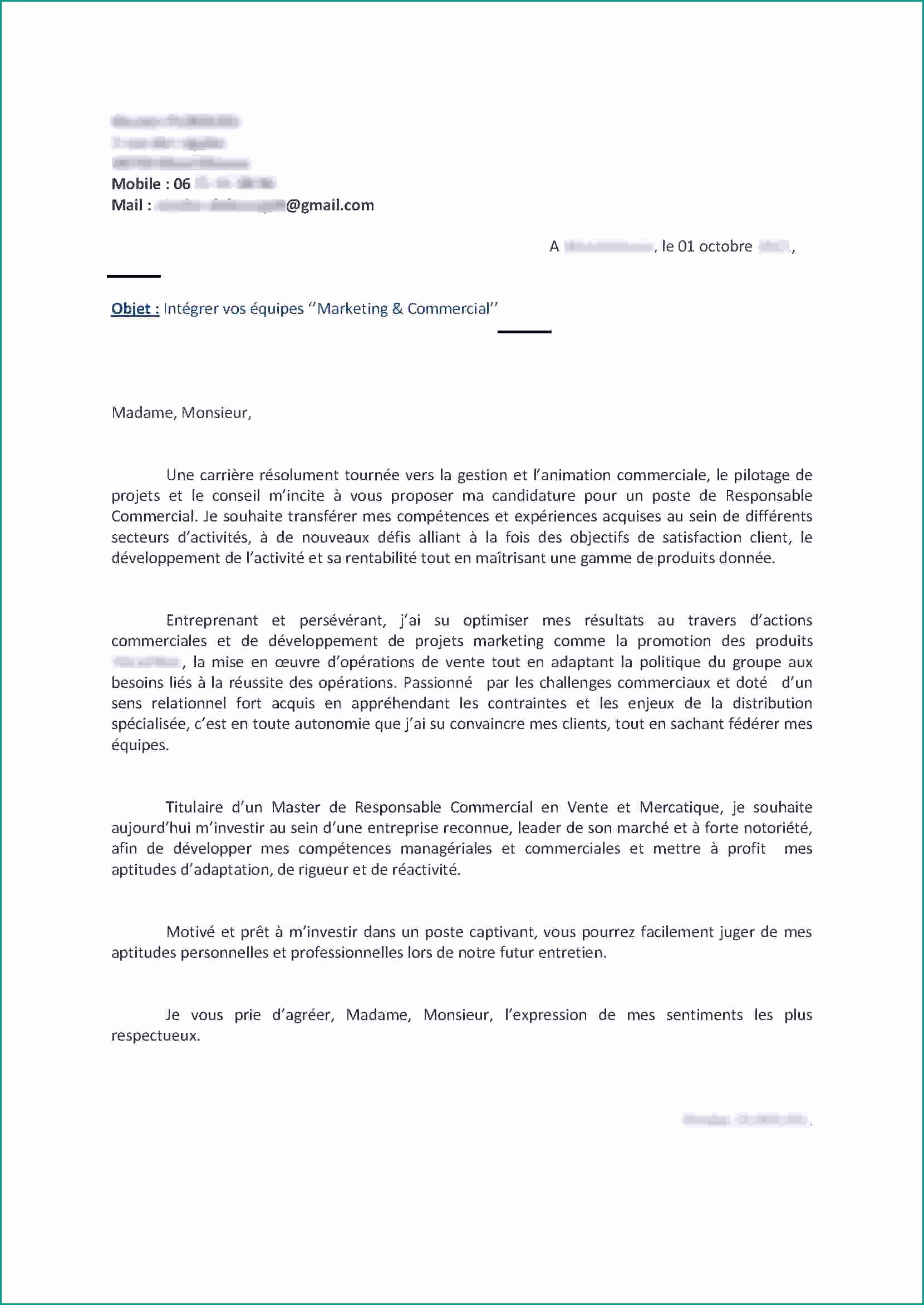Lettre De Motivation Modele Gratuit Elegant Lettre Motivation ...