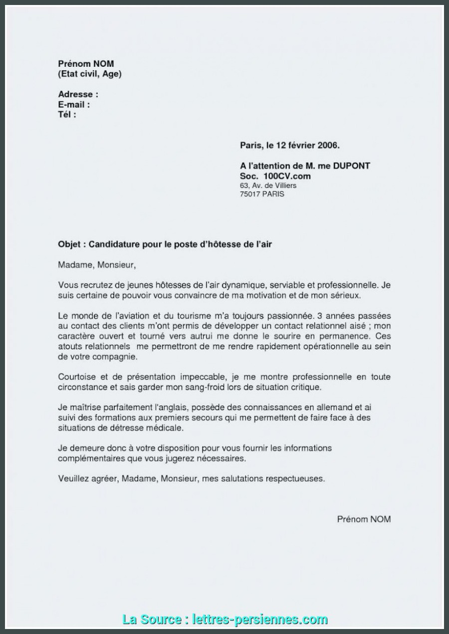 Haut Lettre De Motivation Reconversion Exemple Modele Lettre De ...
